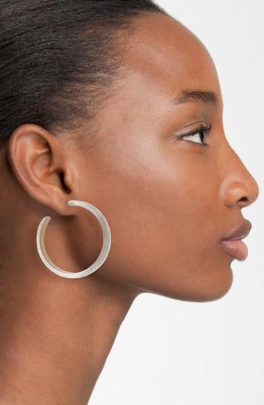 Alexis Bittar Skinny Hoop Earrings