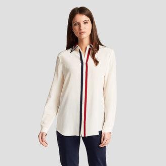 Sophie Stripe Shirt $225 thestylecure.com