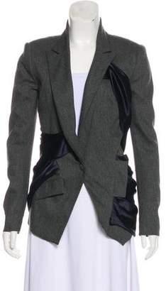 Prabal Gurung Structured Draped Blazer