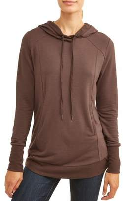 Olivia Sky Women's Long Sleeve Tunic Sweatshirt