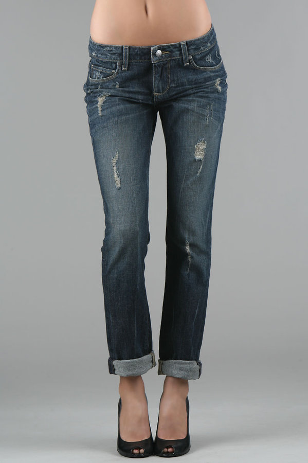 Paige Premium Denim Jimmy Jimmy in Harlow Distressed