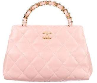 Chanel Mini Quilted Handle Bag