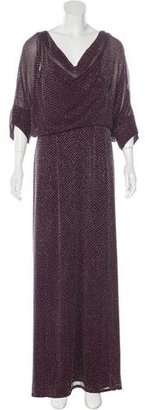 Jenny Packham Beaded Silk Gown w/ Tags $1,745 thestylecure.com
