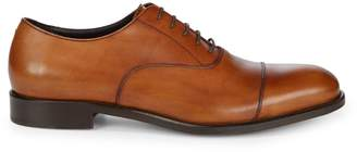 Bruno Magli Domasco Leather Lace-Up Dress Shoes