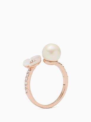 Kate Spade Disco pansy ring
