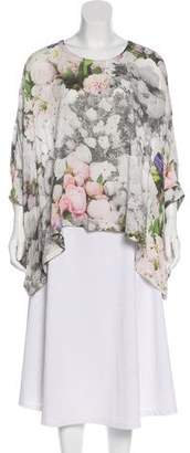 MM6 MAISON MARGIELA Floral Oversize Blouse