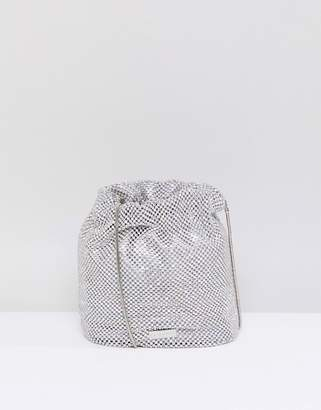 Skinnydip rhinestone embellished cross body bag