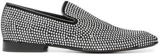 Donald J Pliner PALANOSP, Embellished Velvet Loafer