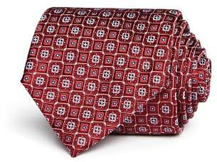 Canali Squares Neat Classic Tie - 100% Exclusive