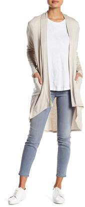 Bobeau Long Sleeve Knit Cardigan (Petite)