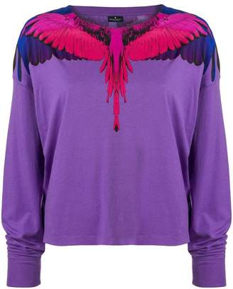 Marcelo Burlon County of Milan wing print sweatshirt