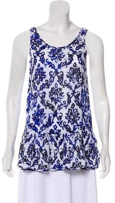 Milly Printed Sleeveless Top