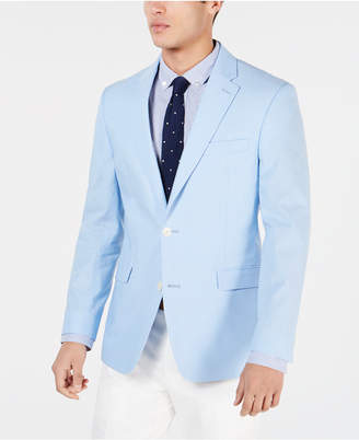 Tommy Hilfiger Men Modern-Fit Chambray Sport Coat