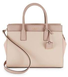 Kate Spade New York Candace Leather Satchel $378 thestylecure.com