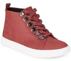 Kenneth Cole Kale Nubuck Leather Hi-Top Sneakers