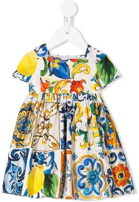 Dolce & Gabbana printed dress