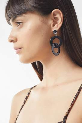 Urban Outfitters Alvin Resin Statement Drop Earring