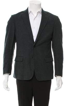Billy Reid Wool Two-Button Blazer