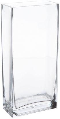 Maxwell & Williams Diamante Prism Rectangular Vase, 25cm