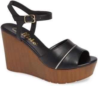 Callisto Masalla Platform Wedge Sandal