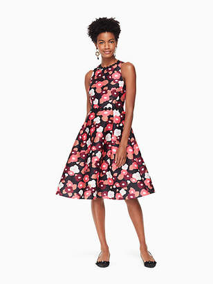 Kate Spade Blooming mikado dress