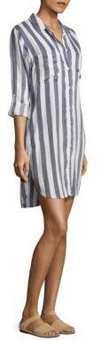 Rails Julian Striped Shirt Dress $168 thestylecure.com
