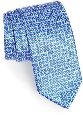 CanaliMen's Canali Floral Silk Tie