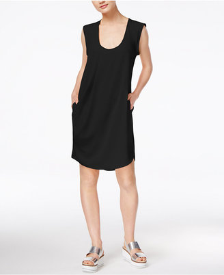 RACHEL Rachel Roy Pleated Pocketed Dress, Only at Macy's $109 thestylecure.com