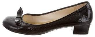 Marc by Marc Jacobs Patent Leather Bow Pumps
