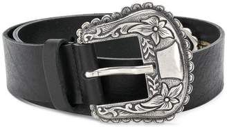Philosophy di Lorenzo Serafini embellished buckle belt