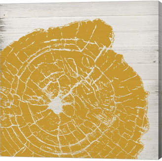 Metaverse Tree Rings I By Ramona Murdock Canvas Art
