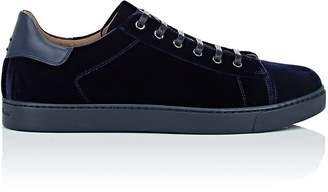 Gianvito Rossi Men's Velvet Sneakers