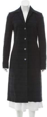 Dolce & Gabbana Patterned Long Coat