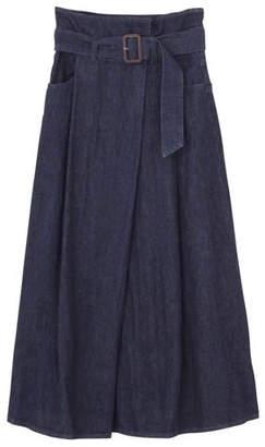 LAGUNAMOON (ラグナムーン) - LAGUNAMOON デニムラップマキシスカート