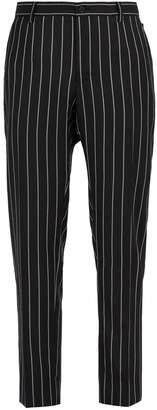 Dolce & Gabbana Pinstriped virgin wool-blend trousers