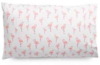 Martha Stewart Whim Flamingo Flamenco 200 Thread-Count Two-Piece Standard Pillowcase Set