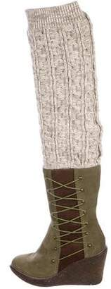 Australia Luxe Collective Knit Over-The-Knee Boots