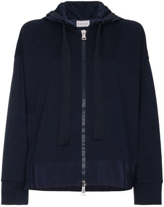 Moncler Logo hoodie with slit