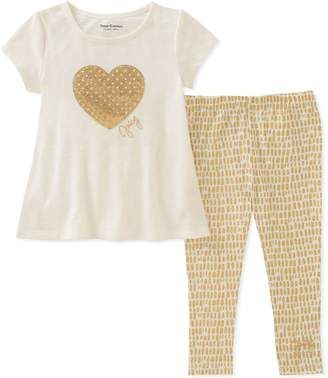 Juicy Couture Big Girls' 2 Pieces Tunic Set
