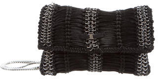 Salvatore FerragamoSalvatore Ferragamo Chain-Link & Satin Rope Clutch