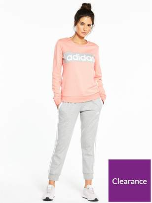 adidas Linear 7/8 Pant Tracksuit - Pink