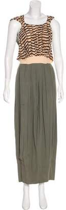 Balenciaga Sleeveless Maxi Dress
