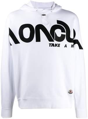 Moncler 1952 logo print hoodie