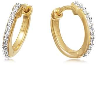 Missoma 18ct Gold Vermeil Hoop Earrings