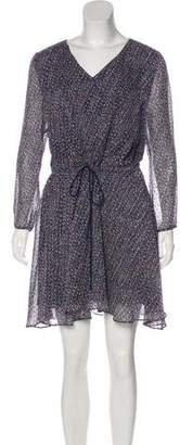 Band Of Outsiders Printed Silk Dress