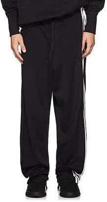 Y-3 Men's Striped Tech-Jersey Track Pants
