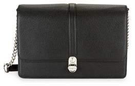 Karl Lagerfeld Paris Flap Leather Shoulder Bag