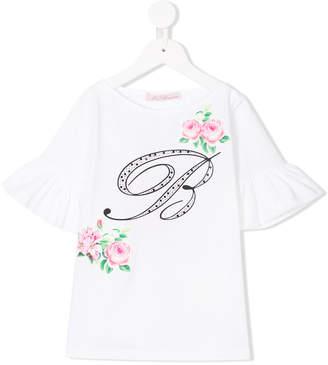 Miss Blumarine B motif T-shirt