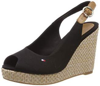d4b1a86d5f1a17 at Amazon Marketplace · Tommy Hilfiger Women s Iconic Elena Basic Sling  Back Sandals