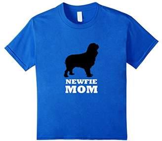 Newfie Mom Newfoundland Working Dog Silhouette Tee T-Shirt